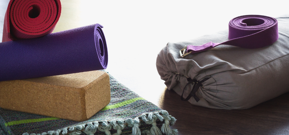 Invest in good quality yoga mats and props.