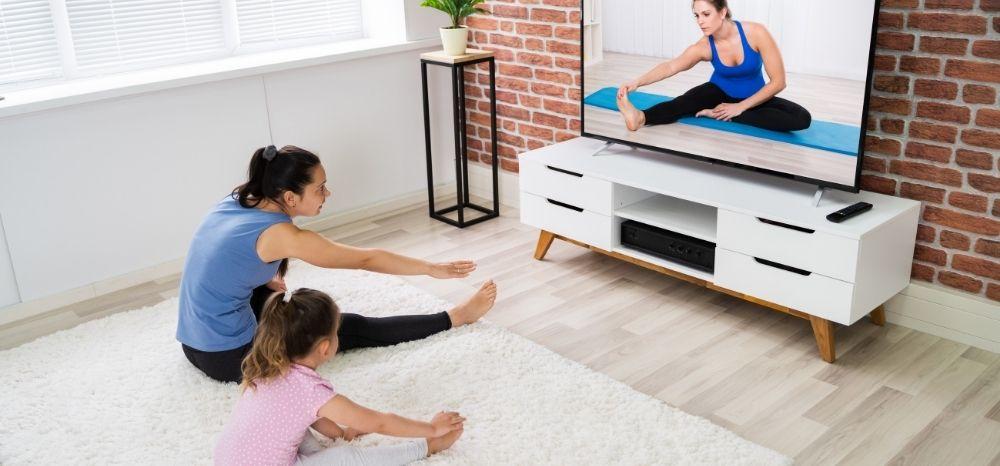 enjoy online yoga class